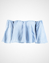 New Look CROPPED BARDOT Bluser light blue