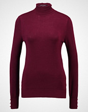 Dorothy Perkins BUTTON CUFF ROLL NECK Jumper red