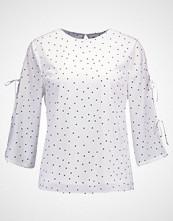 Fashion Union COLE POLKADOT Bluser white