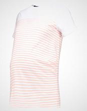 New Look Maternity PLAIN YOKE STRIPE Tshirts med print orange