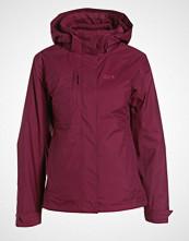 Jack Wolfskin ECHO PASS 2IN1 Hardshell jacket garnet red