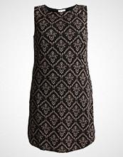 Anna Field Curvy Strikket kjole black/gold