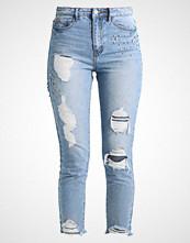 New Look TORI GEM MOM Slim fit jeans mid blue