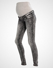 Mamalicious ZENZI  Slim fit jeans grey denim