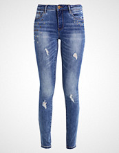 Only ONLCARMEN ANKLE EYELET Slim fit jeans medium blue denim