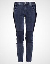 Mos Mosh CORNEY PATCH JEANS Slim fit jeans blue denim