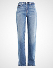 Calvin Klein WIDE LEG Straight leg jeans blue icon