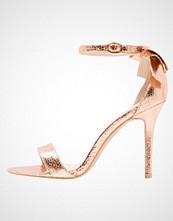 Glamorous Sandaler med høye hæler rose gold