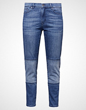 Boss Orange AUSTIN Slim fit jeans bright blue