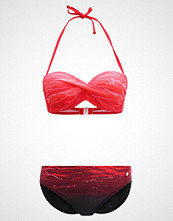LASCANA BANDEAU Bikini red