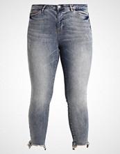 Junarose JRFIVE NW SLIM ANKLE DESTROY Slim fit jeans medium blue