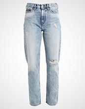 Calvin Klein ANKLE Straight leg jeans tron blue des