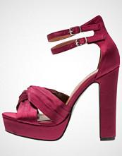 Glamorous Sandaler med høye hæler wine