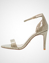 Dune London MORTIMER Sandaler med høye hæler gold