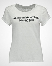 Abercrombie & Fitch CLASSIC  Tshirts med print white
