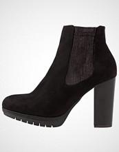 Divine Factory Ankelboots med høye hæler noir