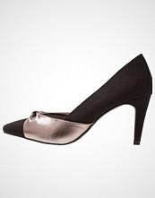 Tamaris Klassiske pumps black/pewter