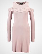 Dorothy Perkins COLD SHOULDER  Strikket kjole peach