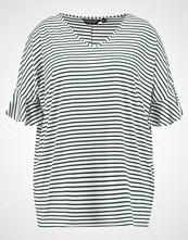 Dorothy Perkins Curve STRIPE RUFFLE  Tshirts green