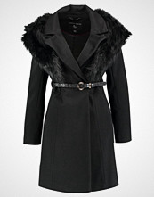 Dorothy Perkins BELTED COAT Kåpe / Frakk black