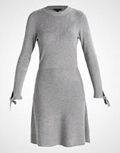 Dorothy Perkins LONG SLEEVE TIE Strikket kjole grey