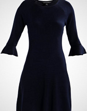 Dorothy Perkins FLUTE SLEEVE DRESS Strikket kjole navy blue