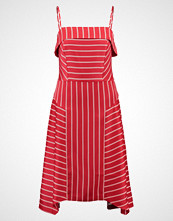 Banana Republic STRAPPY SEAMED DRESS SARAH STRIPE Sommerkjole deep red