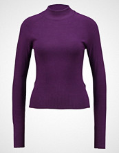 New Look STAND NECK Jumper berry