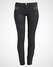 Mos Mosh OZZY STAR BIKER Slim fit jeans dark grey