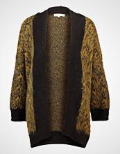 Selected Femme SFMALINE  Cardigan golden brown/black/dark navy