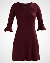 Dorothy Perkins FLUTE SLEEVE  Strikket kjole red