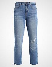 Noisy May NMROXAN CROP  Straight leg jeans medium blue denim
