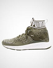 Puma IGNITE EVOKNIT Nøytrale løpesko olive night/quarry/white