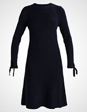 Dorothy Perkins LONG SLEEVE TIE Strikket kjole navy blue