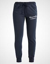 Abercrombie & Fitch CORE BANDED Treningsbukser dark blue