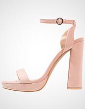 Glamorous Sandaler med høye hæler peach