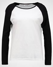 Noisy May NMGRADU  Topper langermet bright white/black
