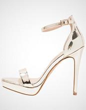 ALDO MADALENE Sandaler med høye hæler multi metallic