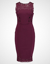Ted Baker VERITACUT OUT DETAIL BODYCON DRESS Cocktailkjole maroon