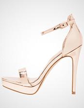 ALDO MADALENE Sandaler med høye hæler metallic miscellaneous