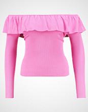 Miss Selfridge FRILL BARDOT  Jumper pink