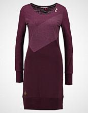Ragwear VIOLA DRESS Jerseykjole plum