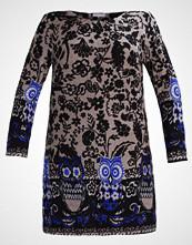 Anna Field Curvy Strikket kjole blue/grey