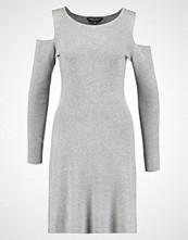 Dorothy Perkins COLD SHOULDER  Strikket kjole grey