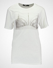 Missguided PHOTO BRALET  Tshirts med print white