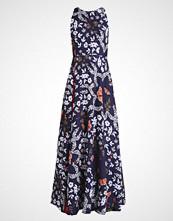Ted Baker SASKAE CONTRAST PLEATED DRESS Fotsid kjole navy