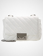 Missguided WHITE QUILTED  Skulderveske white