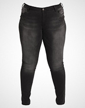 Zizzi SANNA Slim fit jeans black washed