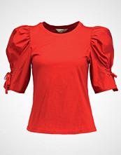 Miss Selfridge POPLIN VOLUME SLV  Tshirts med print red