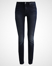 Vila VIJUNAS Slim fit jeans dark blue denim